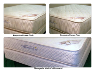 Therapedic Two Sided Mattresses
