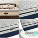 Simmons Beautyrest Mattress & Latex Topper.
