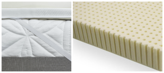 latex mattress topper - Extra Firm Mattress Topper