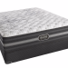 Simmons Beautyrest Black Desiree or Calista mattress with a soft latex topper.