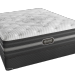 Simmons Beautyrest Mattress & Latex topper for above average weight people.
