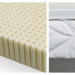 A Soft Latex Topper on a Simmons Beautyrest Mattress to Relieve Shoulder and Hip Pain.