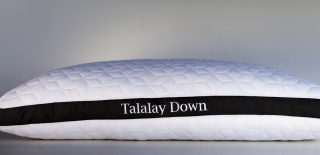 Pure Talalay Bliss Latex Down Pillow