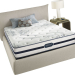 Simmons Beautyrest Plush Pillowtop Mattress.