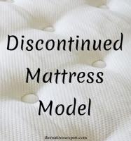 Discontinued Mattress Models