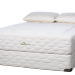 What mattress will be long lasting and comfortable under a very large man?